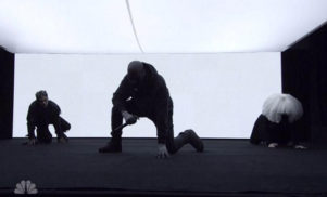 Watch Kanye West perform 'Wolves'  with Sia and Vic Mensa on Saturday Night Live