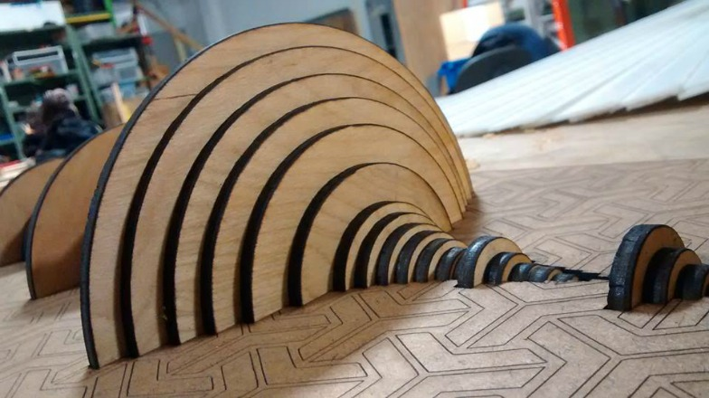You can now buy an 'Amen Break' waveform made out of wood