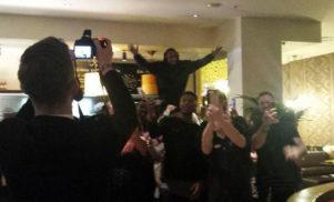 Kanye West got Nandos before tonight's BRIT Awards