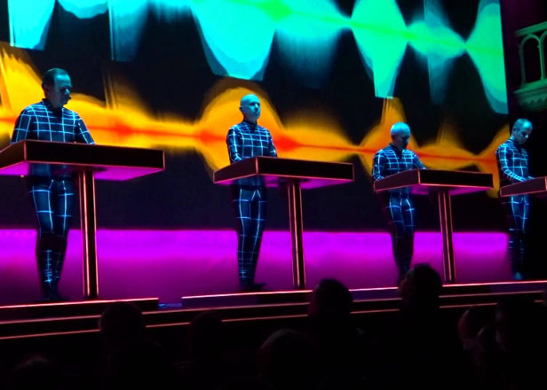 Watch a video revealing Kraftwerk's secret live rig