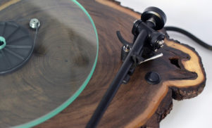 Kickstarter launched for company that handcrafts turntables out of wood