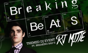 "Breaking Bad's Walt Jr. previews mix, announces ""Breaking Beats"" tour with blue meth candy and breakfast buffet"
