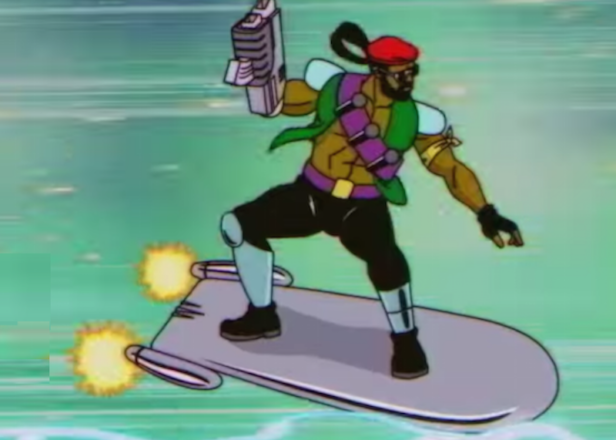 The Major Lazer cartoon series will premiere next month