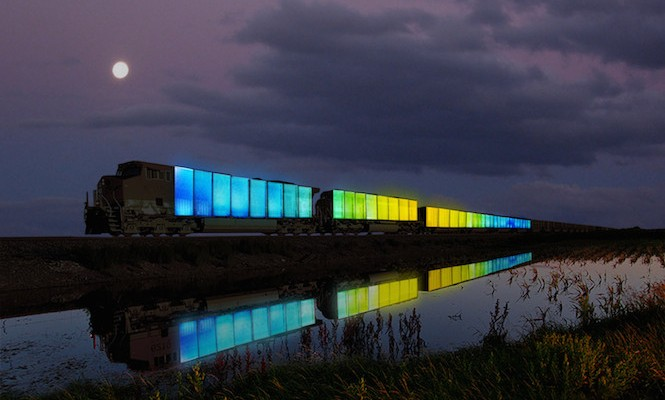 Doug Aitken's travelling art experiment Station To Station coming to London's Barbican with Suicide, Terry Riley and more