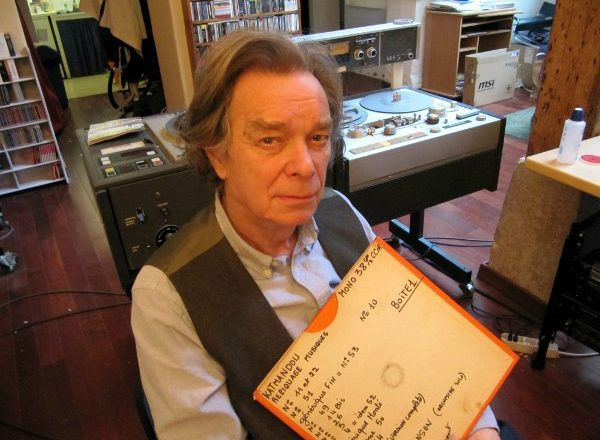 "Serge Gainsbourg and Jean-Claude Vannier's ""lost"" score for Les Chemins de Katmandou discovered in a suitcase"