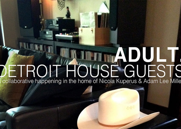 Ghostly duo ADULT. begin new collaborative album by inviting artists into their Detroit home