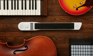 A MIDI controller that you play like a guitar just made $75,000 on Kickstarter in six hours