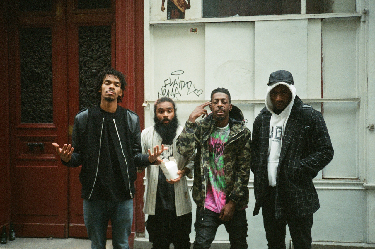 Skepta team with Flatbush Zombies for ominous 'RedEye to Paris'