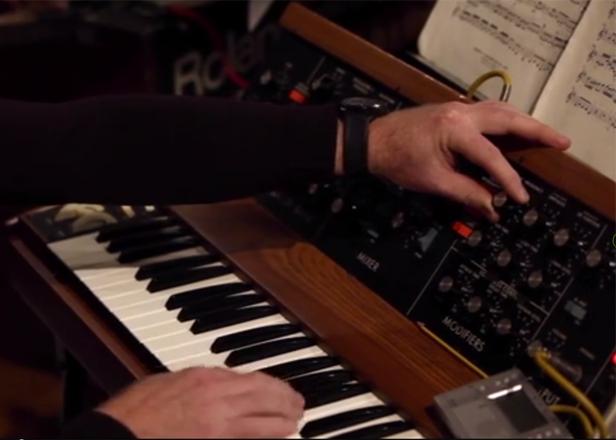 Hear a Moog ensemble play Bach's 'Brandenburg Concerto No. 3'