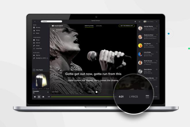 Spotify goes karaoke with lyrics update for desktop app