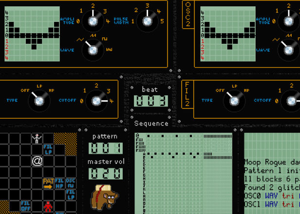 A developer has combined an RPG with a synthesizer you can play in your browser
