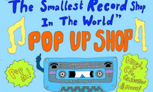The world's smallest record shop returns to London in April