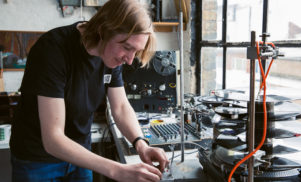 Ghosts in a Badly-Oiled Machine: The Mechanical Techno of Graham Dunning