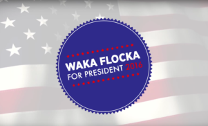 Waka Flocka Flame is launching a campaign to be President of the United States