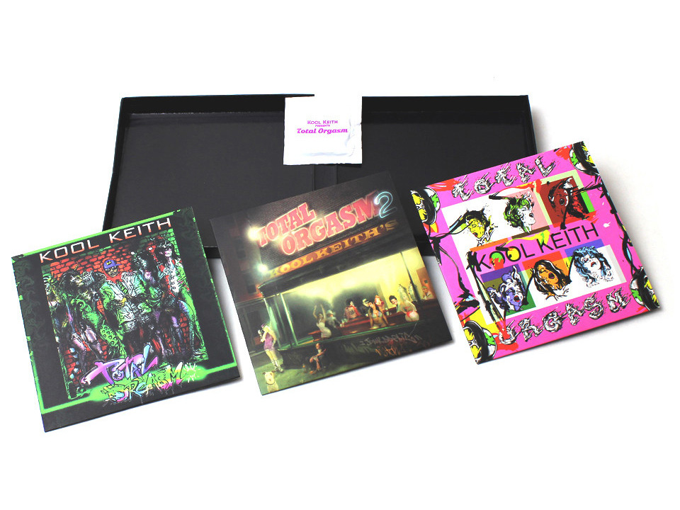 Kool Keith's Total Orgasm boxset comes with a condom
