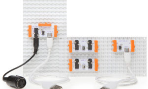 littleBits' Korg synth kit gets MIDI, CV and USB functionality