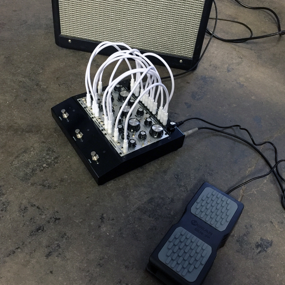 Pittsburgh Modular has created a fully patchable modular guitar effects pedal