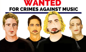 "The Queensland Police Department warn public of Nickelback's ""crimes against music"""