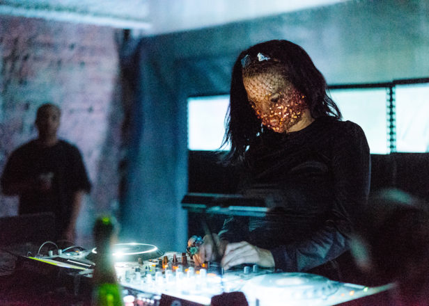 Listen to Björk's surprise DJ set from Tri Angle's New York party