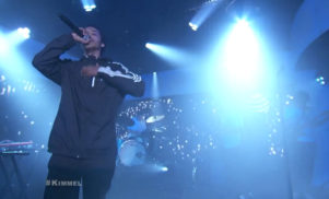 Earl Sweatshirt brings out Badbadnotgood and Gary Wilson on Jimmy Kimmel live