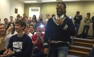 Lil Jon speaks at Oxford University on race relations, politics and crunk