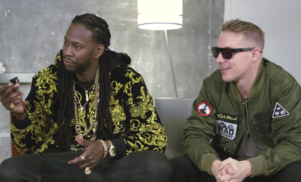 Watch Diplo & 2 Chainz Try On $48K Sunglasses