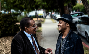 Watch D'Angelo and Bobby Seale discuss politics and music
