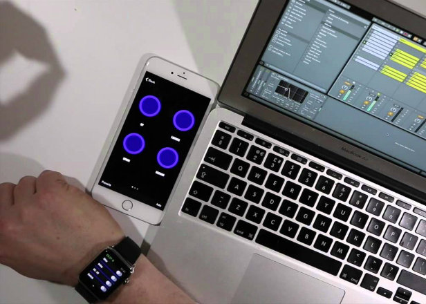 You can now control Ableton Live with an Apple Watch