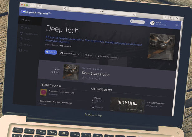 Digitally Imported launches streaming service aimed at electronic music fans