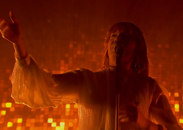 Watch Florence and The Machine's headline Glastonbury set