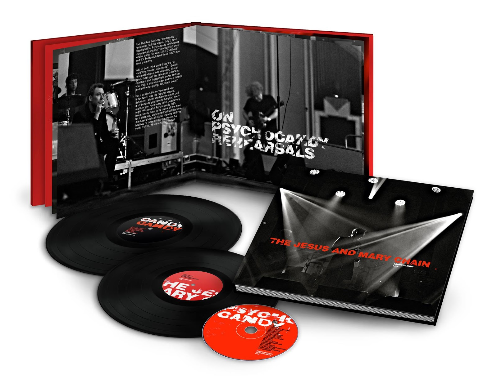 The Jesus and Mary Chain to release live box set recorded at Glasgow's Barrowlands