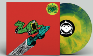 Rare prep vinyl release of the Battletoads soundtrack for Comic Con