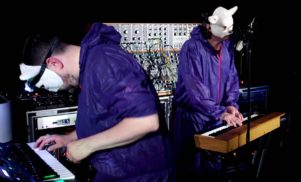 Watch Free School in the Moog Sound Lab at Supersonic Festival