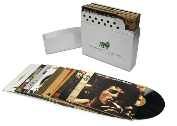 Bob Marley's complete Island Records albums compiled in Zippo-shaped box set