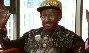 Watch Lee 'Scratch' Perry meet Channel 4's Krishnan Guru-Murthy