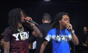 Watch Migos play 'Hannah Montana' with an orchestra