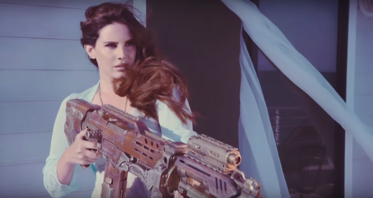 Lana Del Rey High By The Beach Official Video