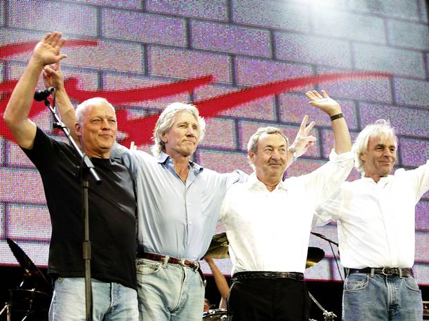 "Pink Floyd are ""done"" according to David Gilmour"