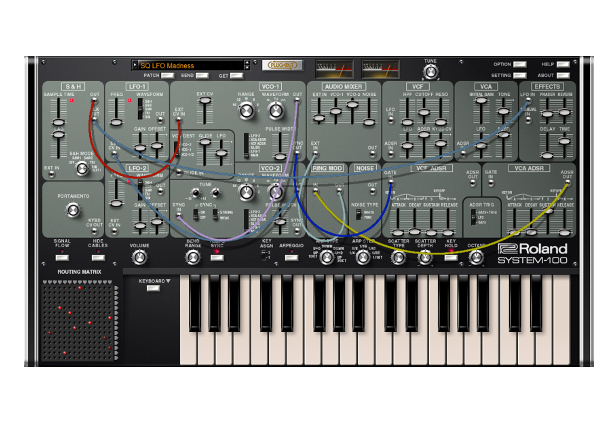 Roland revives semi-modular System-100 as plug-out synth