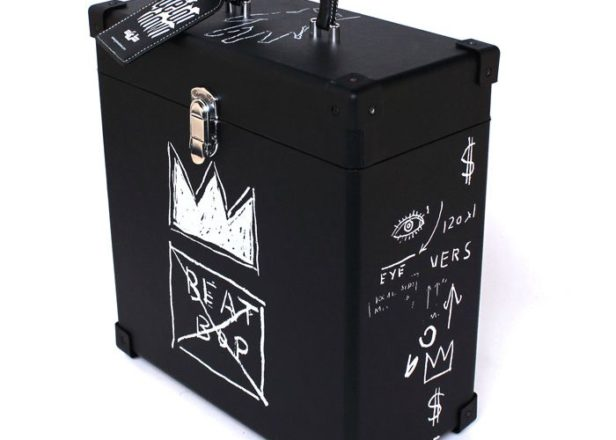 Check out this Madlib-approved Jean-Michel Basquiat record case