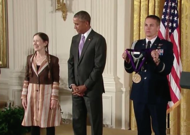Legendary experimental composer Meredith Monk receives National Medal Of Arts