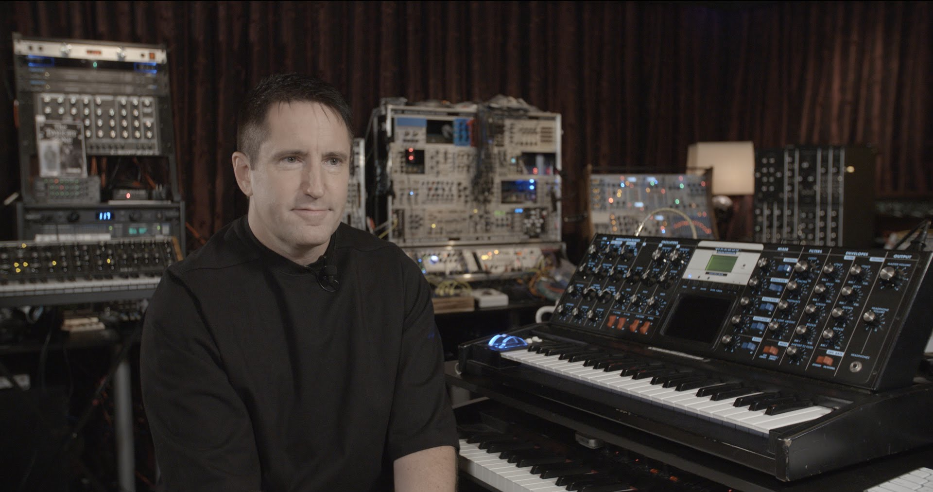 Trent Reznor details his relationship with Moog synthesizers