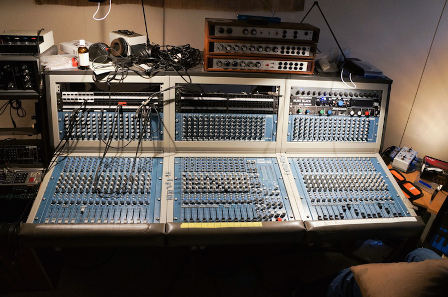 Buy techno pioneer and Basic Channel-founder Moritz von Oswald's mixer on eBay