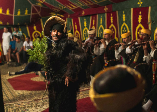 Watch Morocco's Master Musicians of Joujouka perform 4000-year-old trance music