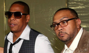 Jay Z and Timbaland attend start of 'Big Pimpin'' trial
