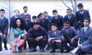 Watch Wiley receive his paving stone and give a speech at Bow High School
