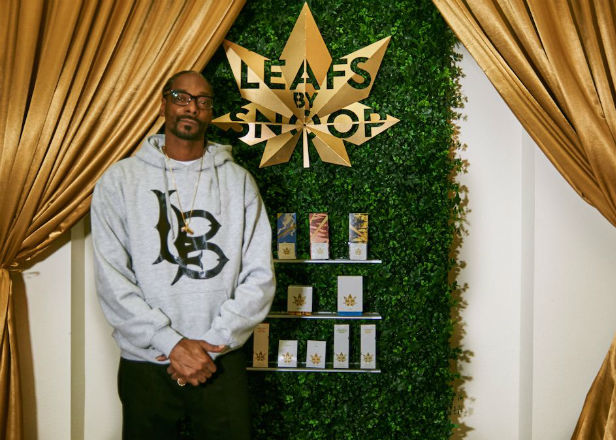 Snoop Dogg launches his own weed brand, Leafs By Snoop