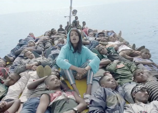 M.I.A. highlights the refugee crisis on 'Borders' video