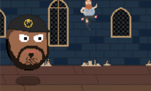 Run from Ghostface Killah's giant floating head in new Action Bronson browser game