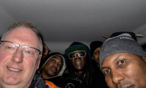 UK man drives Public Enemy to concert in his Ford Focus